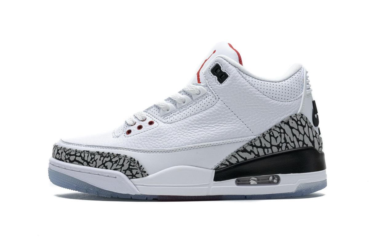 PK God Air Jordan 3 Retro White Cement