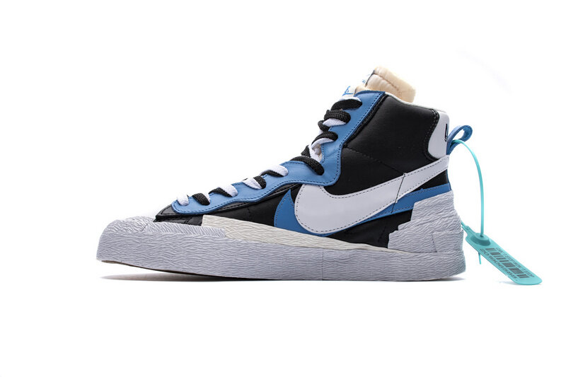 PK God Nike Blazer Mid sacai White Black Legend Blue