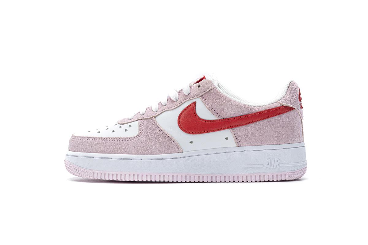 PK God Nike Air Force 1 07 QS Valentine's Day Love Letter