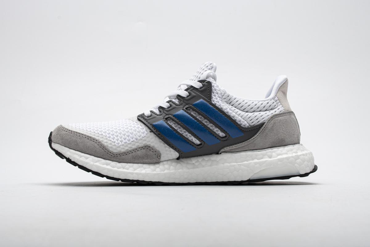 PK God adidas Ultra Boost S&L White True Blue Grey