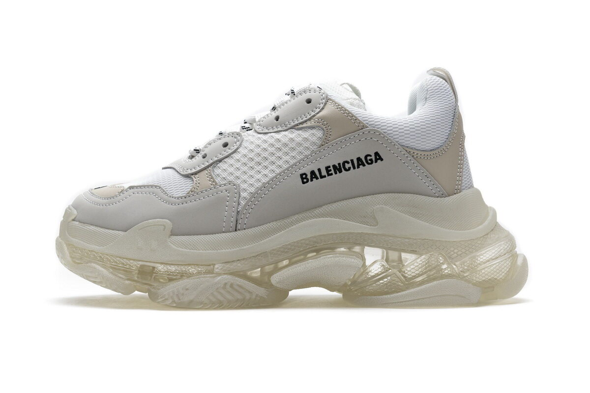 PK God Balenciaga Triple S White