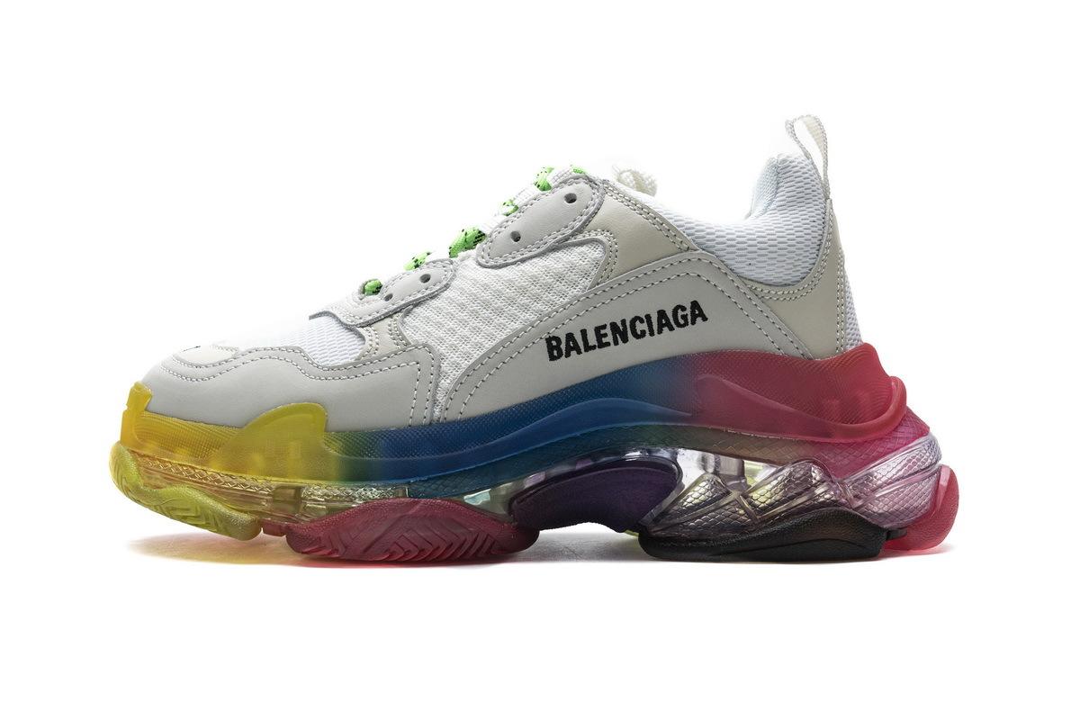 PK God Balenciaga Triple S Rainbow