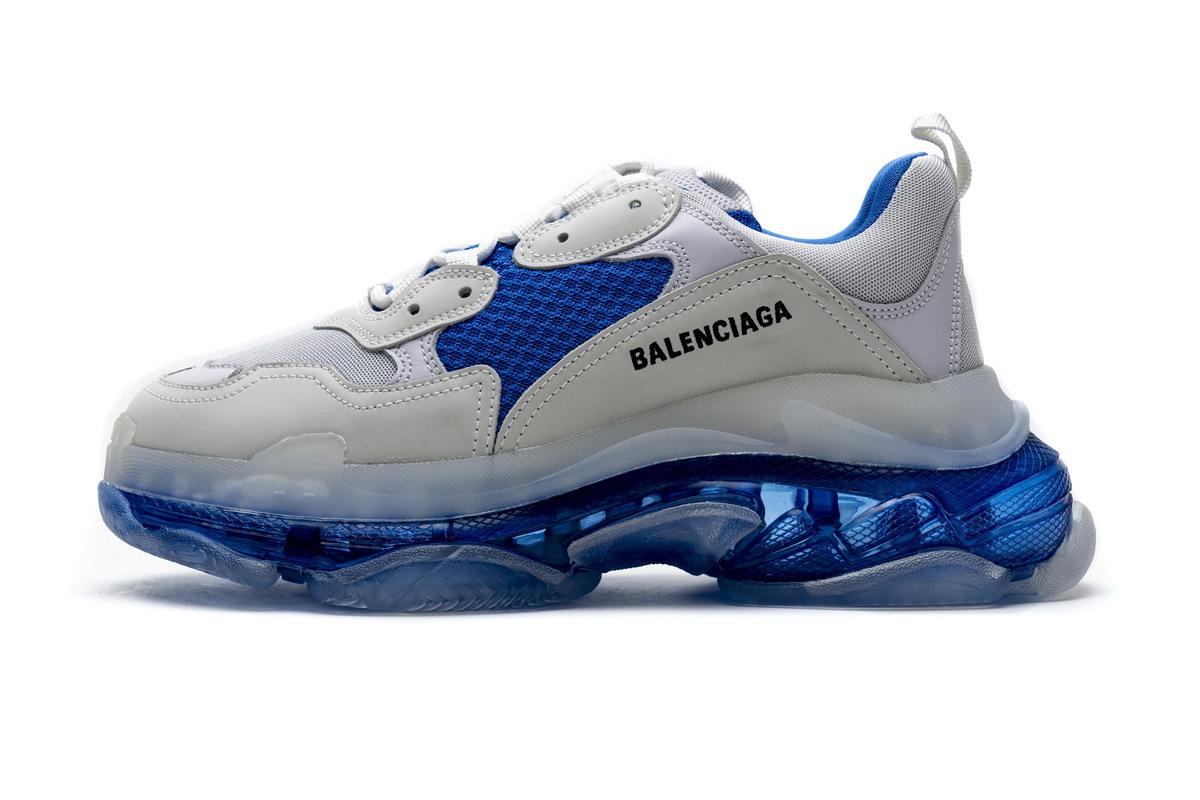 PK God Balenciaga Triple S White Blue