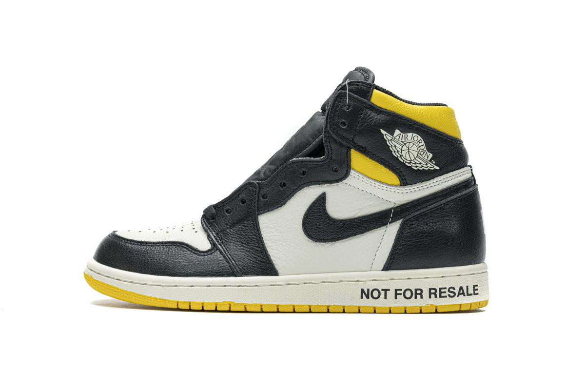 "PK God Air Jordan 1 Retro High ""Not for Resale"" Varsity Maize"