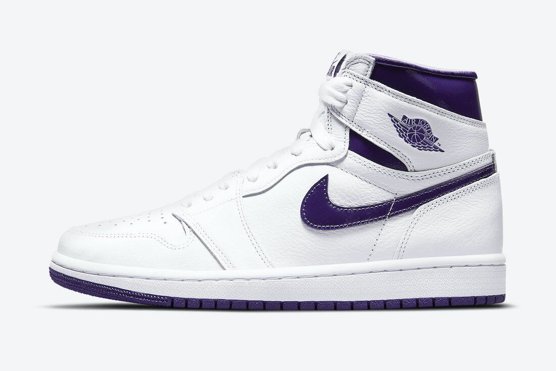 PK God Air Jordan 1 Retro High Court Purple (W)