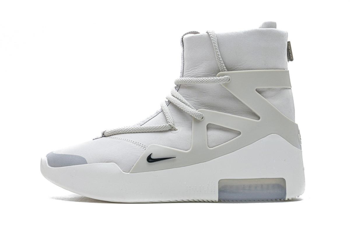 PK GOD Nike Air Fear Of God 1 Light Bone