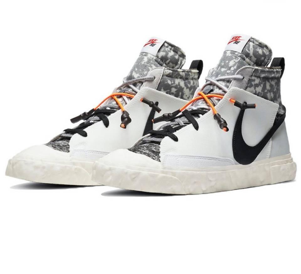 PK God Nike Blazer Mid READYMADE White