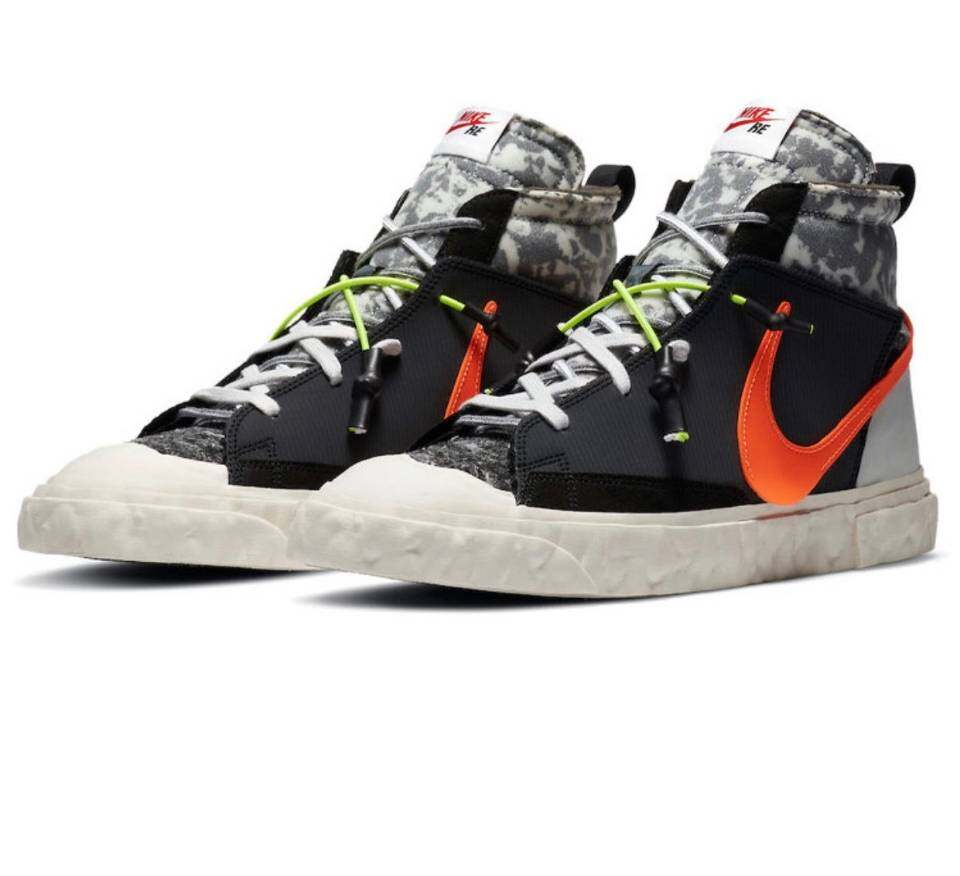PK God Nike Blazer Mid READYMADE Black