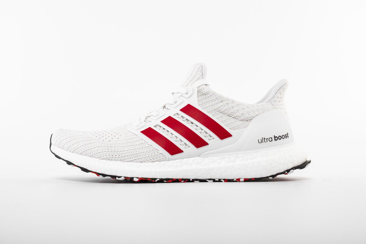 PK God adidas Ultra Boost 4.0 Cloud White Active Red