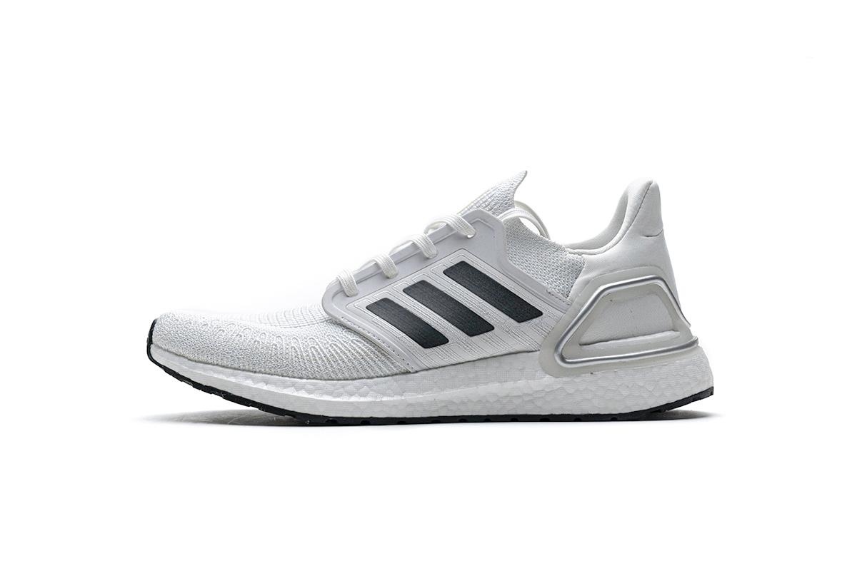 PK God  Adidas Ultra BOOST 20 CONSORTIUM White Silver Grey