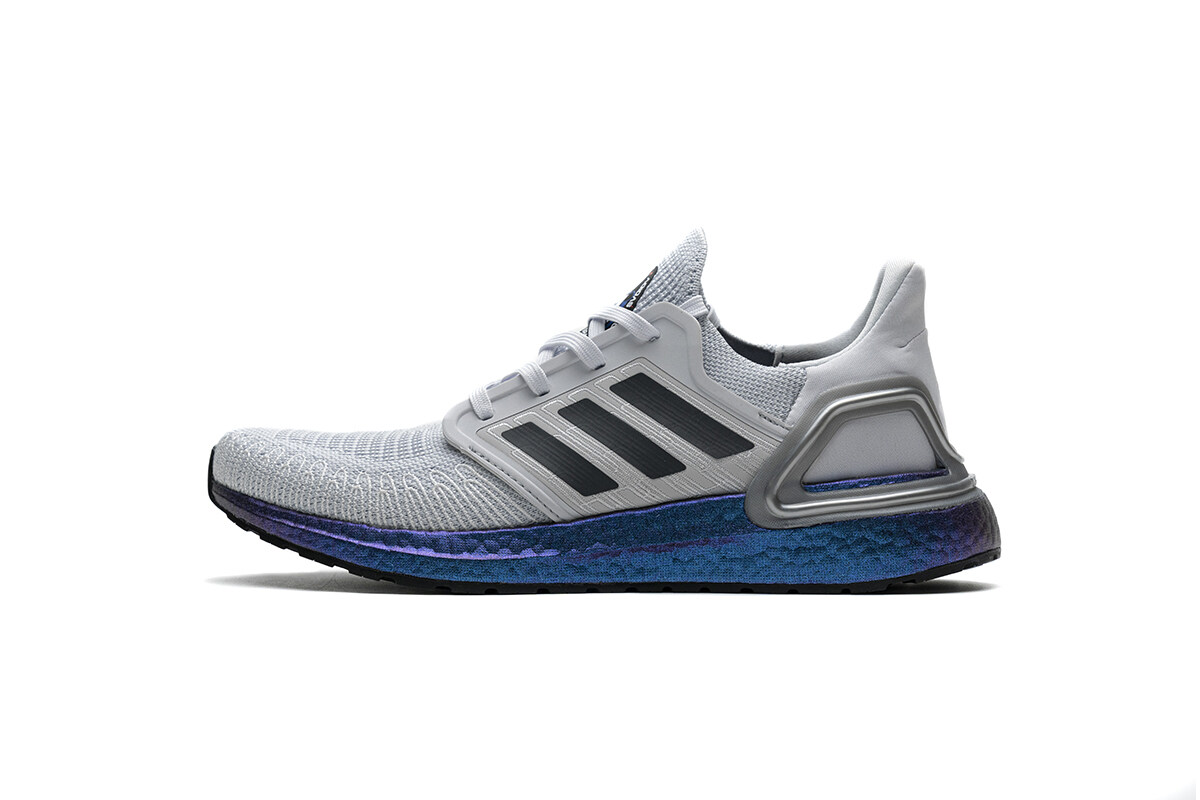 PK God adidas Ultra BOOST 20 CONSORTIUM Metal Grey and Coral Real Boost
