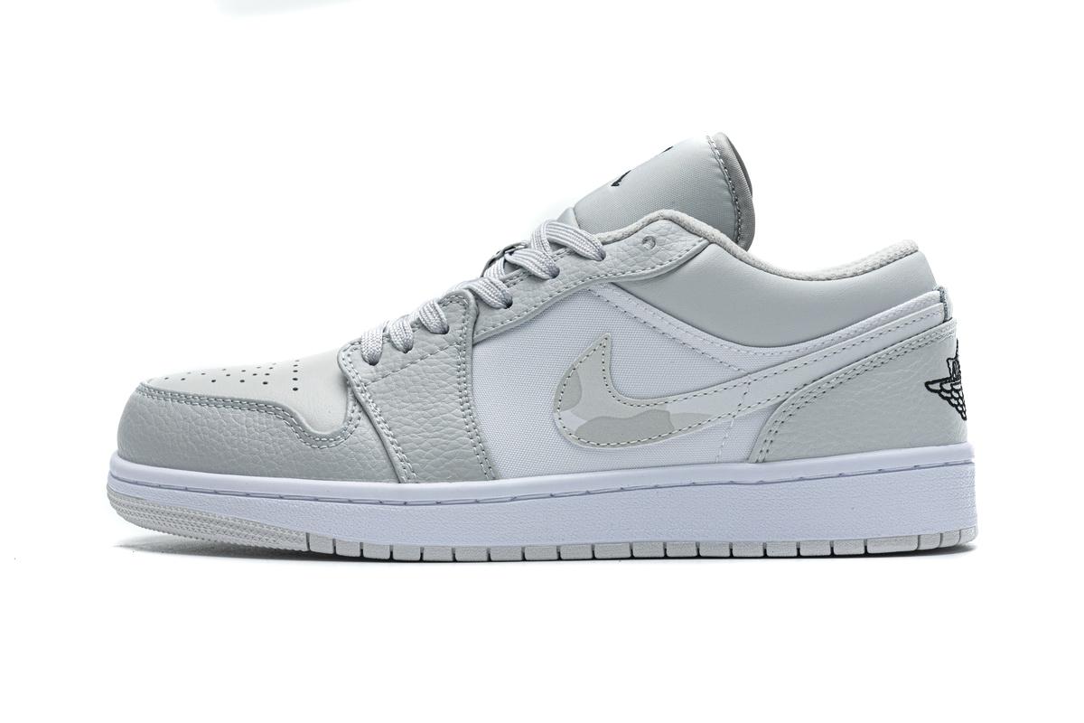 PK God Air  Jordan 1 Low White Camo