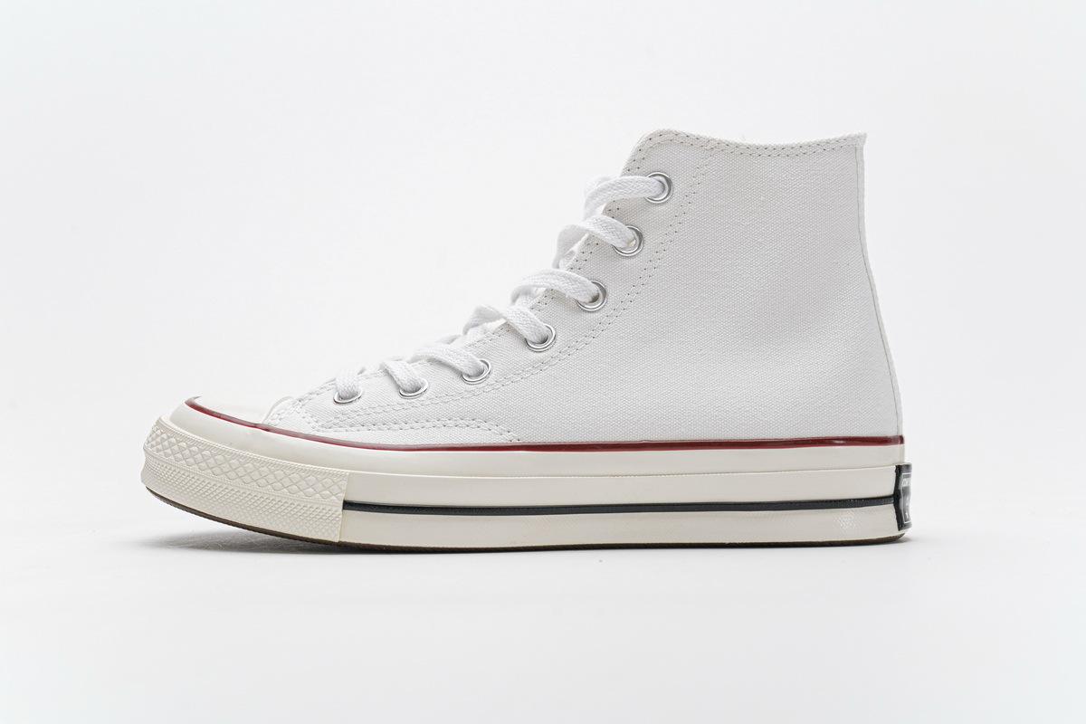 PK God Converse Chuck 70 HI White Garnet Egret