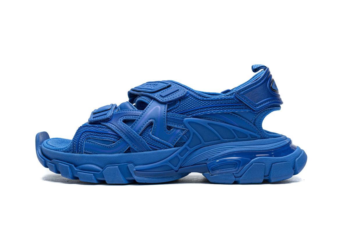 PK God   Balenciaga Track Sandal Blue