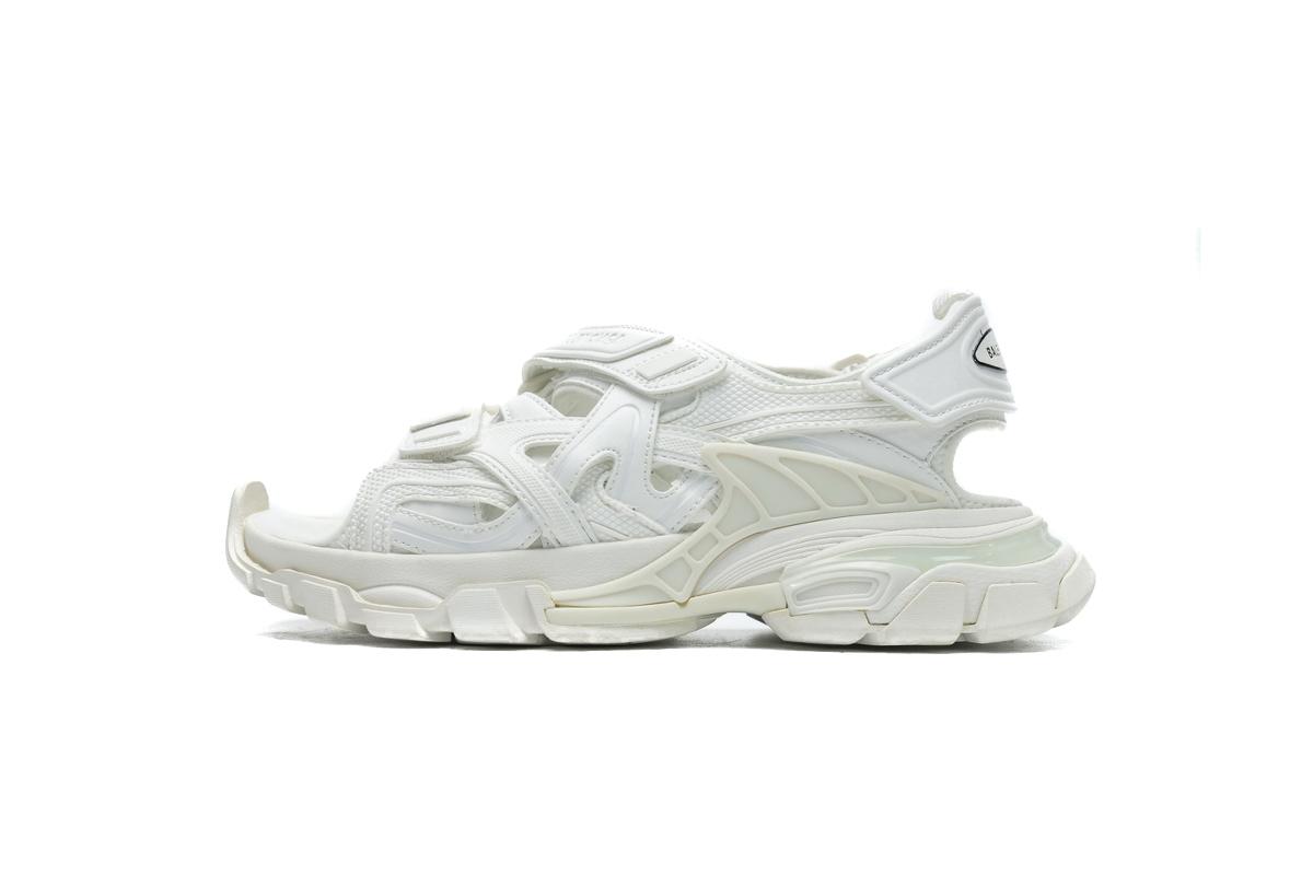 PK God  Balenciaga Track Sandal White