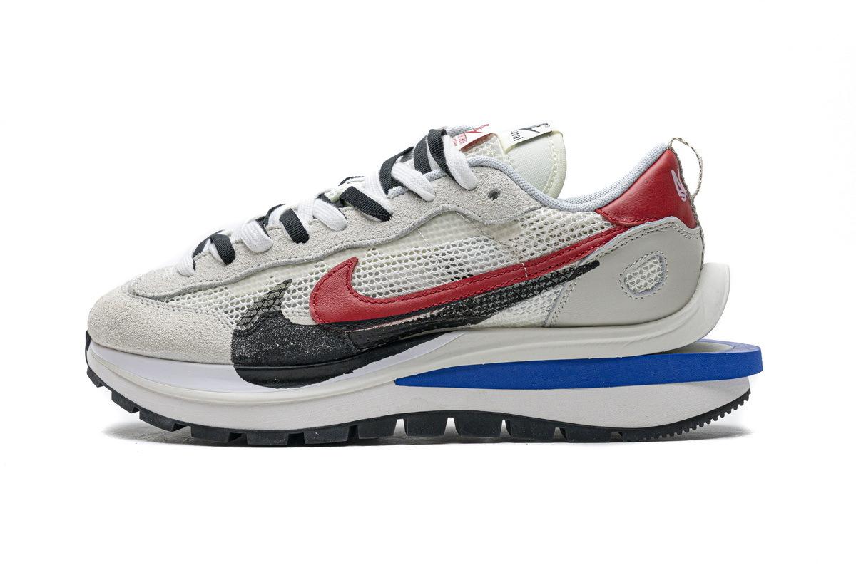 PK God Sacai x Nike Pegasua Vaporfly Villain Grey Blue Red