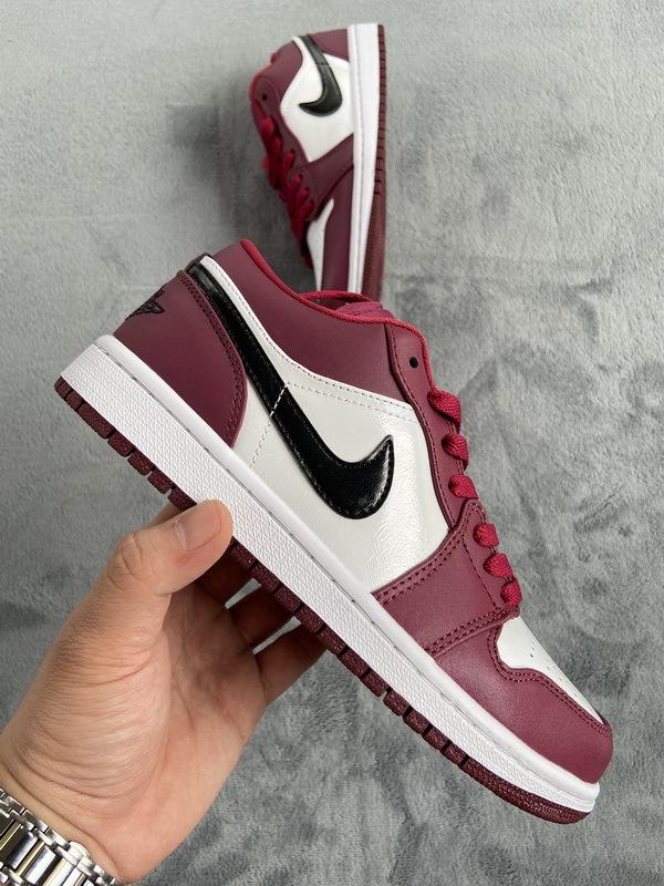 PK God Jordan 1 Nike Dunk Low Noble Red