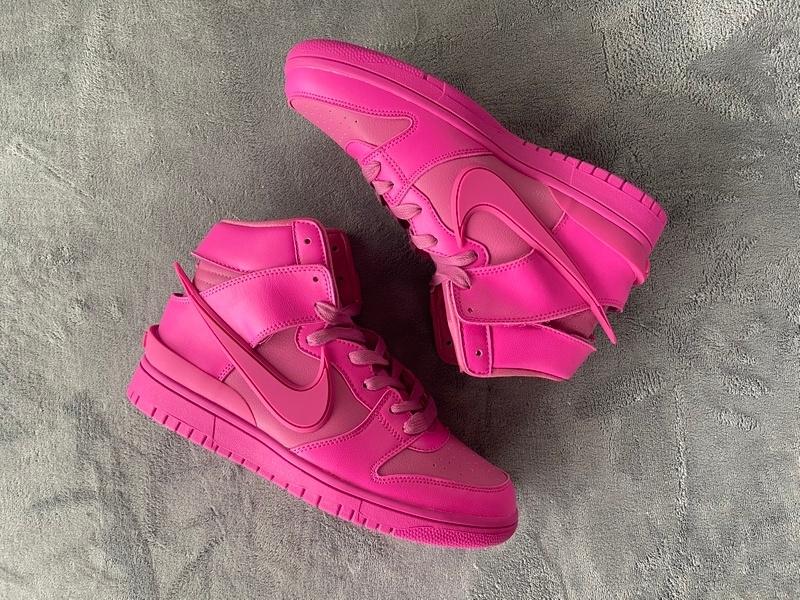 PK God Nike SB High Ambush x Nike Dunk High Cosmic Fuchsia