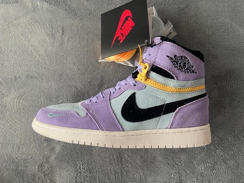 PK God Air Jordan 1 High Switch Purple Pulse