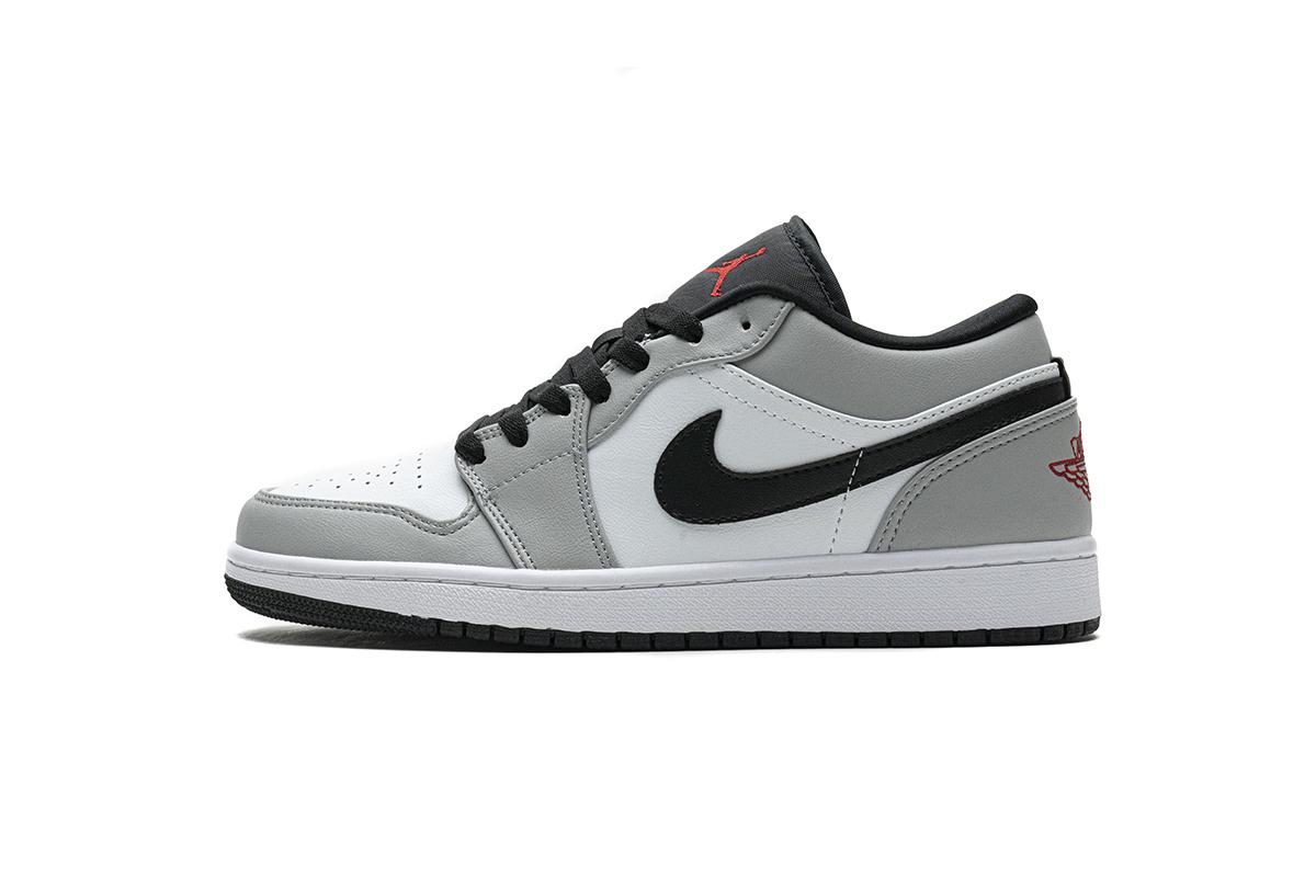 PK God Air Jordan 1 Low Light Smoke Grey