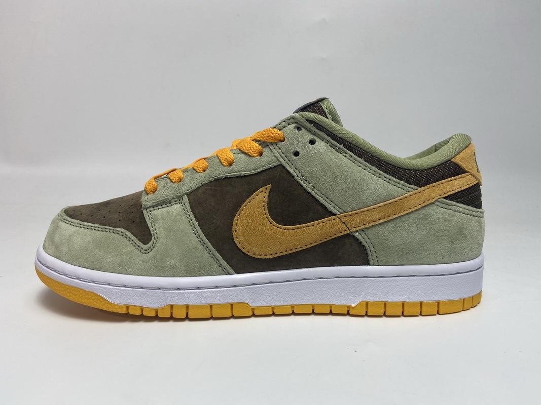 PK God  Nike SB Dunk Low Dusty Olive