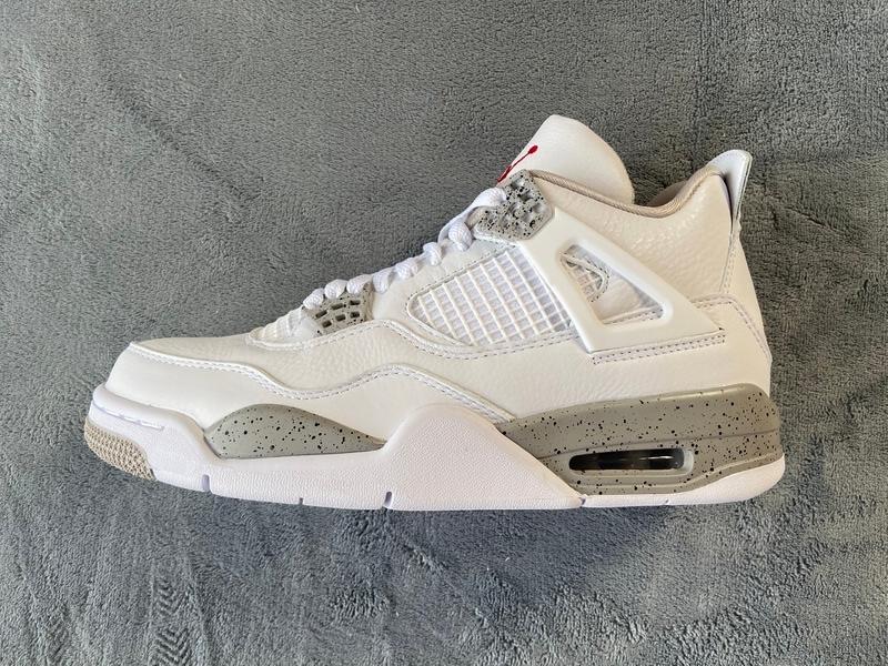 PK God Air Jordan 4 Retro White Oreo (2021)