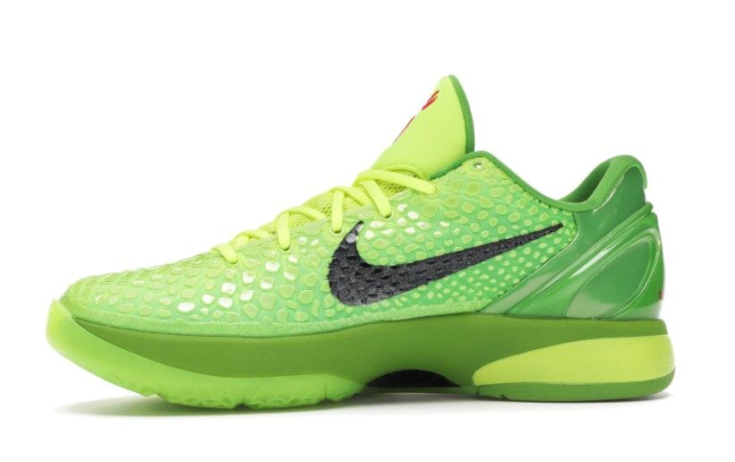 PK God Nike Kobe 6 Protro Grinch (2020)