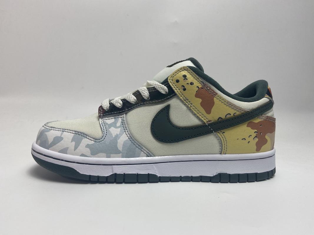 PK God Nike Dunk SB Low Multi Camo