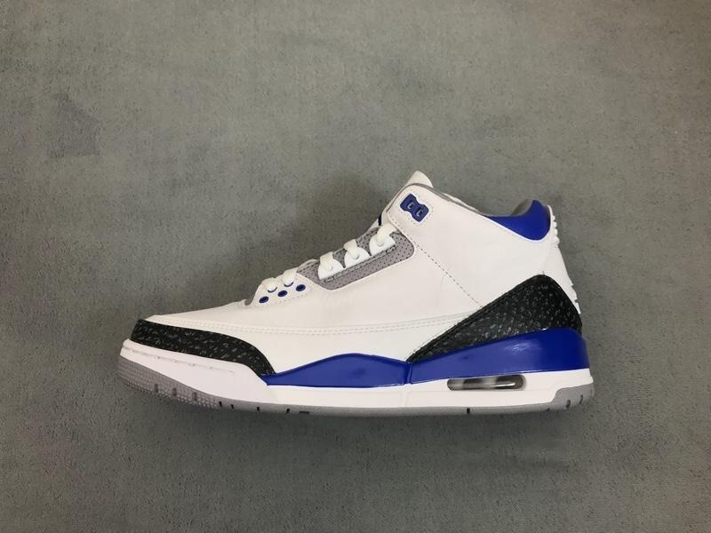 PK God Air Jordan 3 Retro Racer Blue