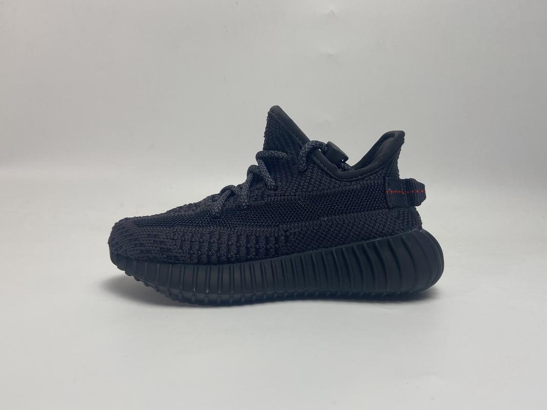 PK God adidas Yeezy Boost 350 V2 Black (Kids)