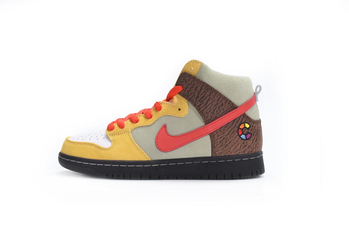 PK God Nike SB Dunk High Color Skates Kebab and Destroy
