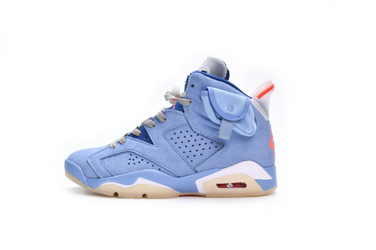 PK God Air Jordan 6 North Carolina Blue