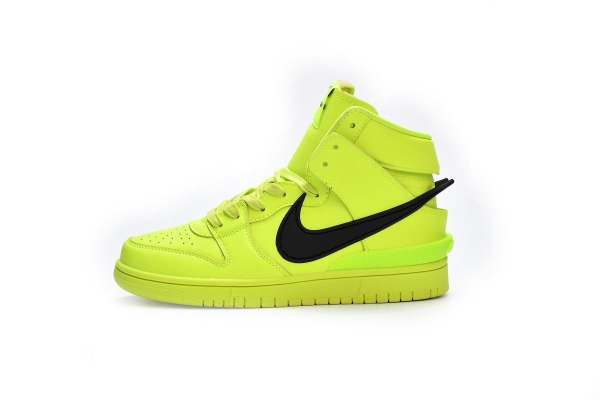 PK God Nike SB Dunk High AMBUSH Flash Lime