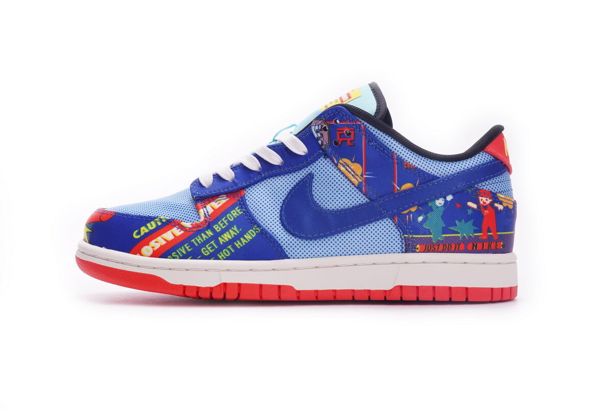 PK God Nike Dunk Low Chinese New Year Firecracker (2021)