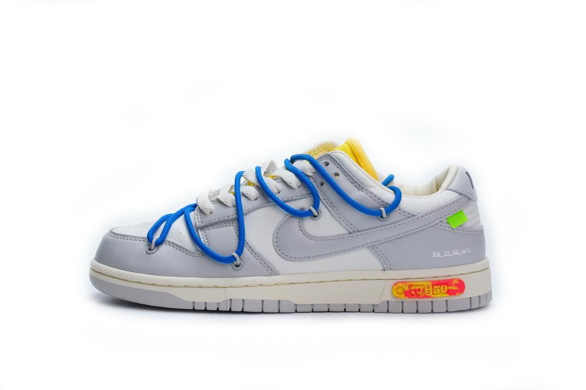 PK God Nike Dunk Low Off-White Lot 10