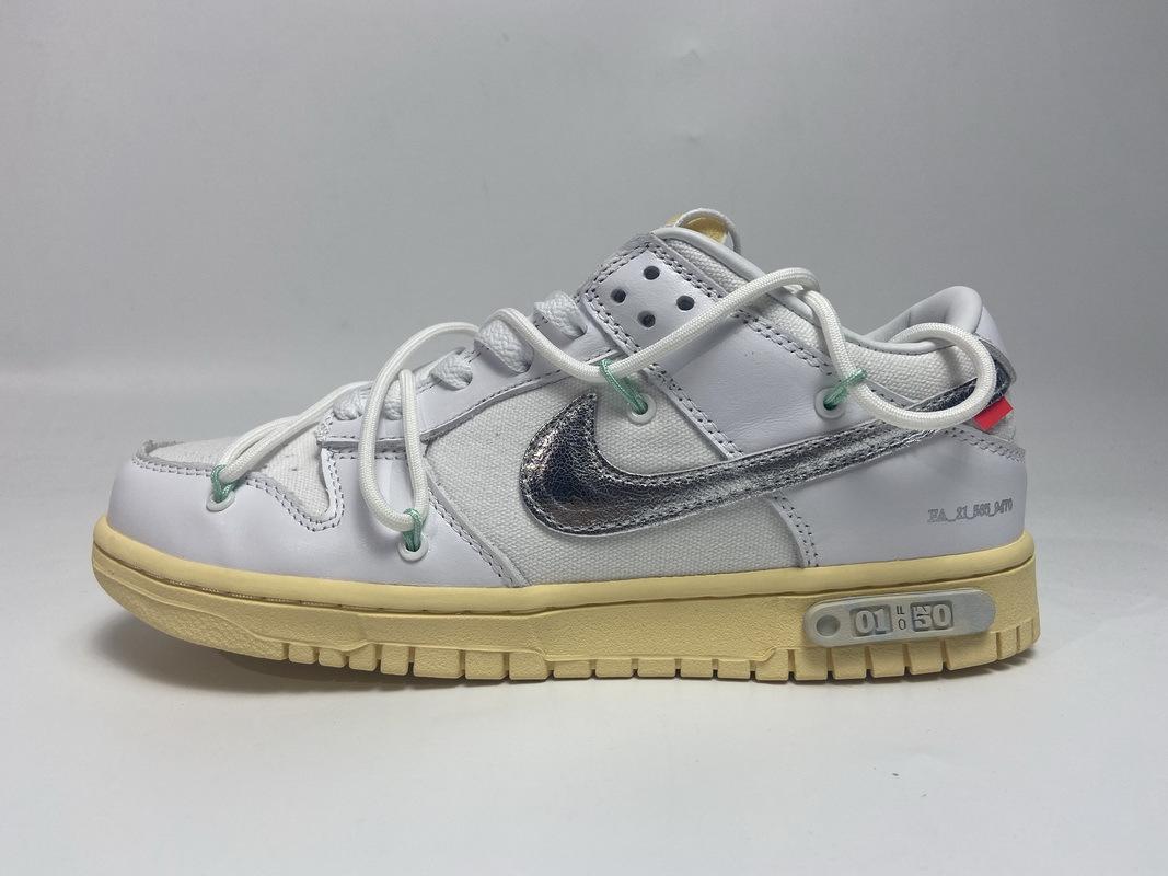 PK God Nike Dunk Low Off-White Lot 1