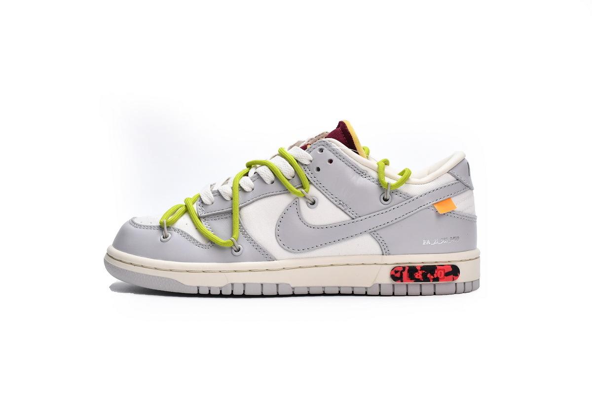 PK God Nike Dunk Low Off-White Lot 8