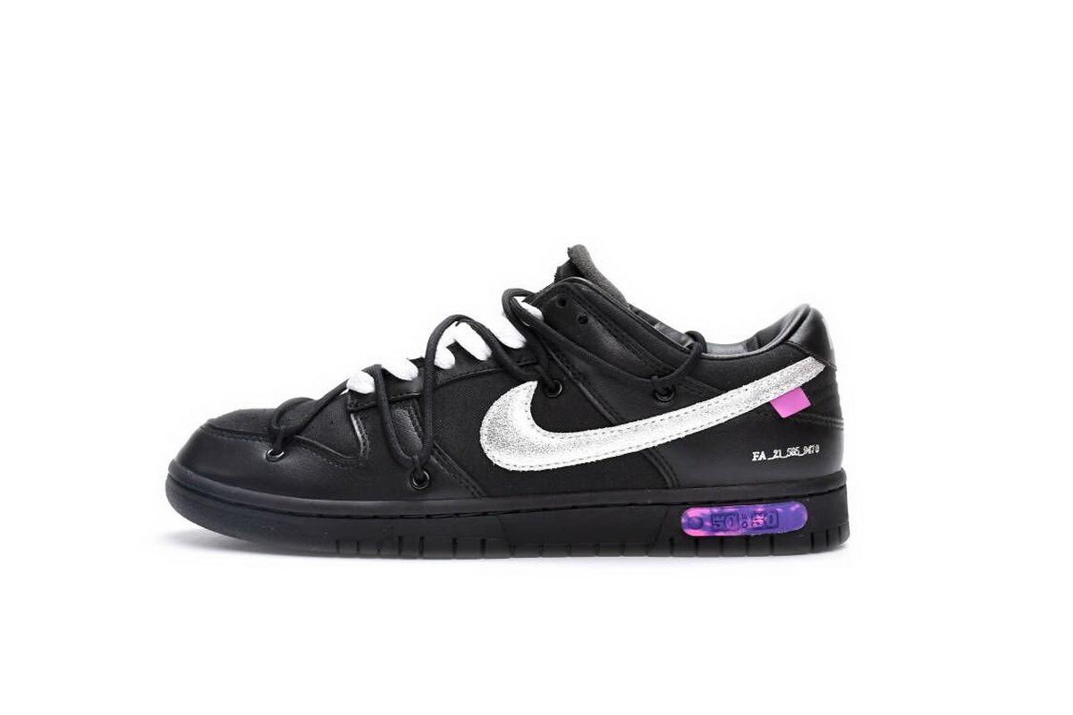 PK God Nike Dunk Low Off-White Lot 50