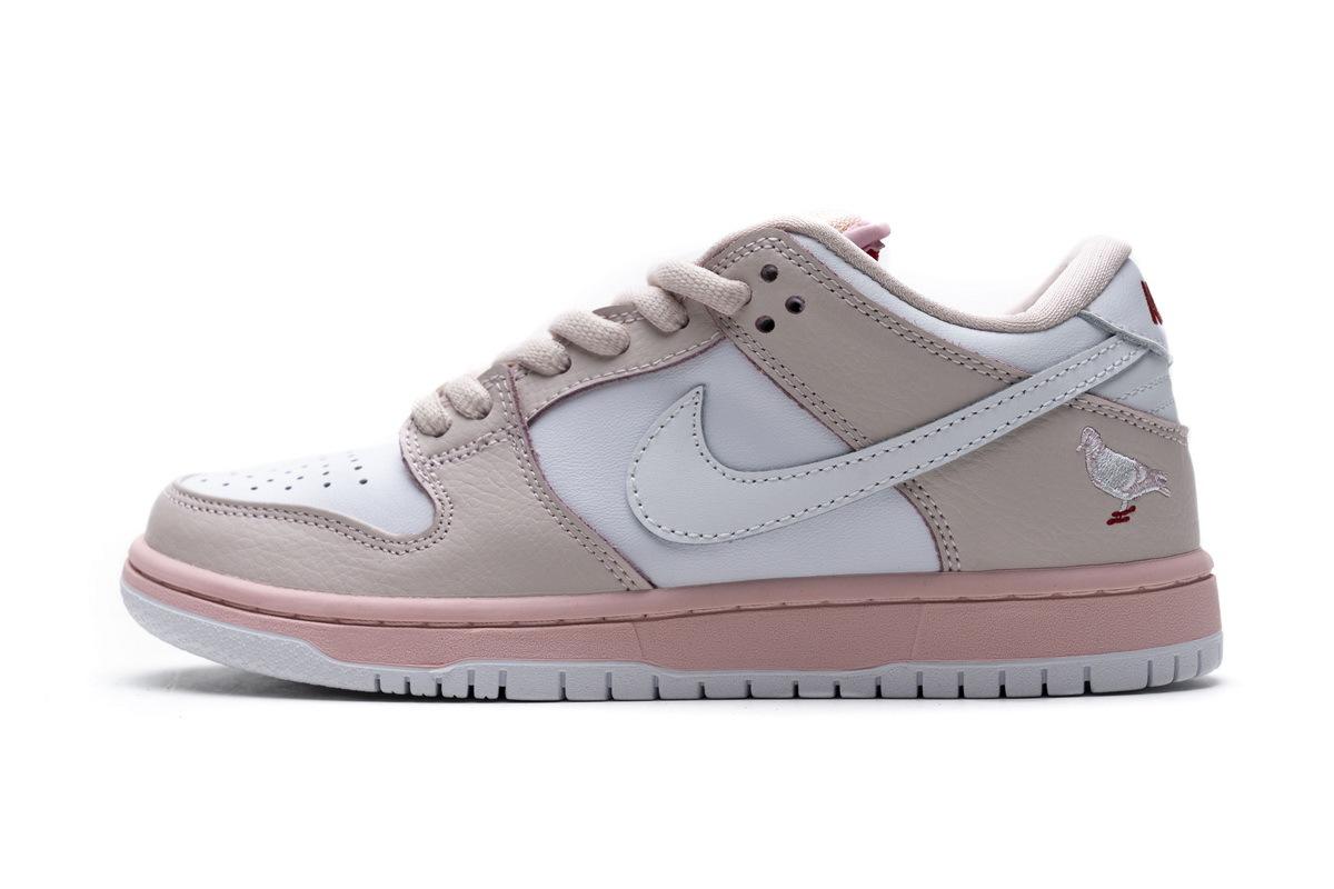 PK God Nike SB Dunk Low PRO OG QS Pink Pigeon