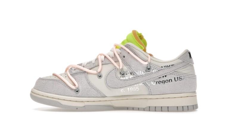 PK God Nike Dunk Low Off-White Lot 12