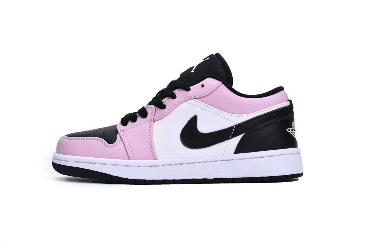PK God Air Jordan 1 Low Light Arctic Pink (GS)