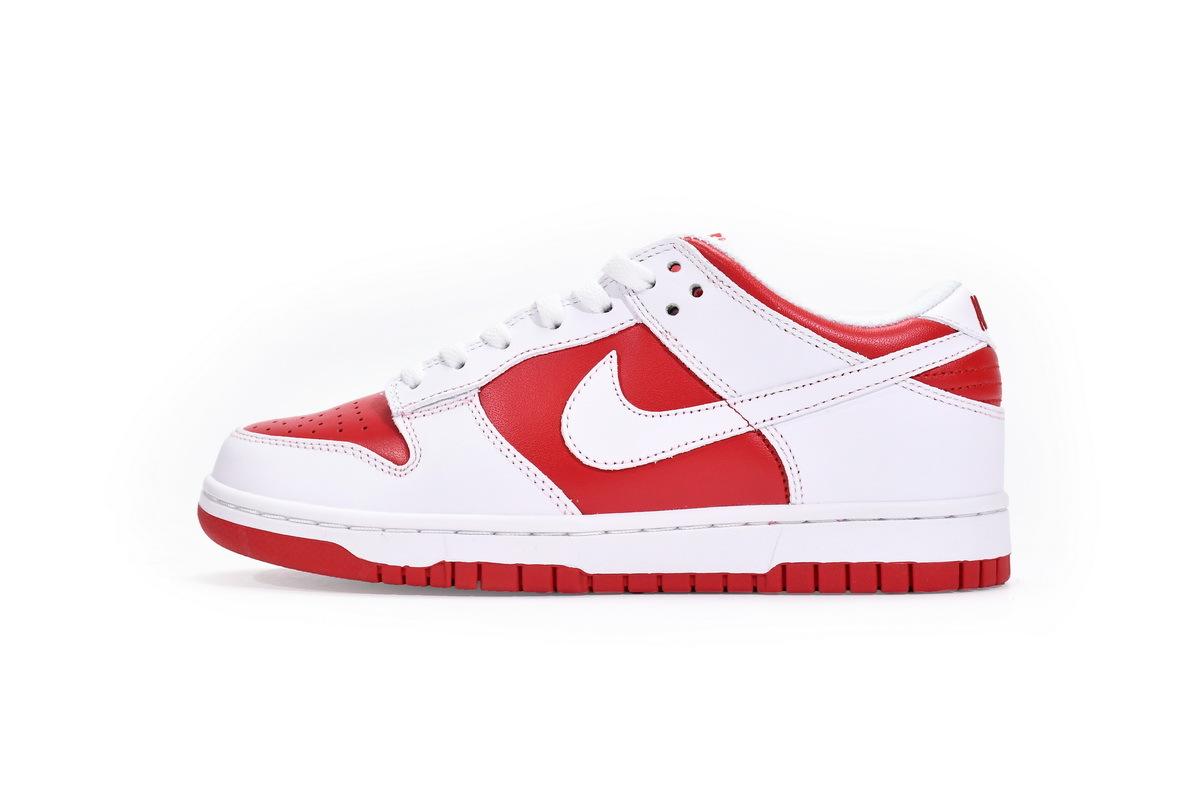 PK God Nike Dunk Low Championship Red (2021)