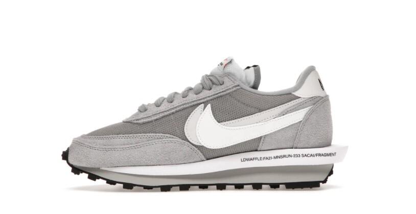 PK God Nike LD Waffle SF sacai Fragment Grey