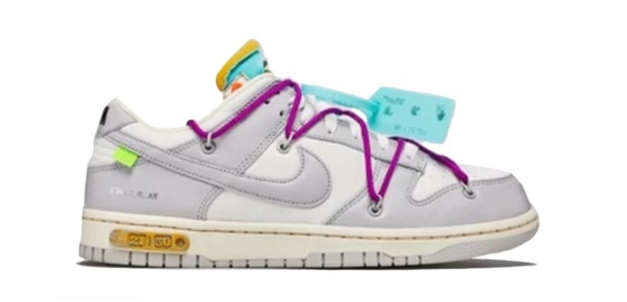 PK God Nike Dunk Low Off-White Lot 21