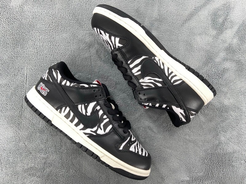 PK God Quartersnacks x Nike SB Dunk Low Zebra