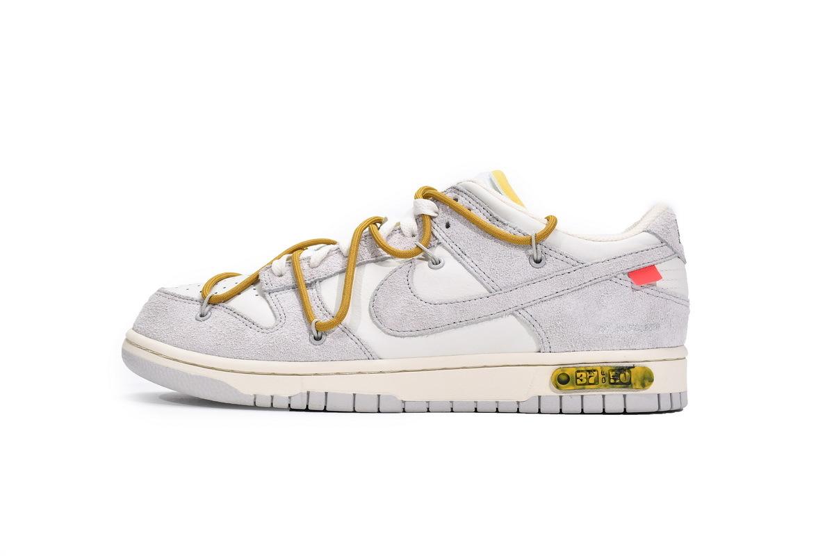 PK God Nike Dunk Low Off-White Lot 37