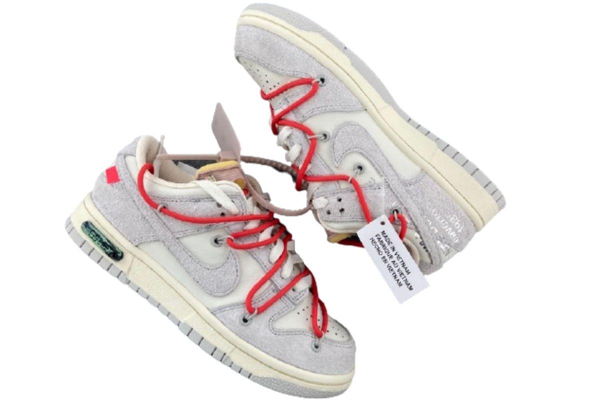 PK God Nike Dunk Low Off-White Lot 33