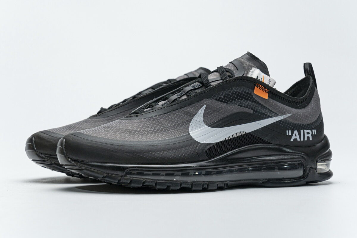 OWF Batch Sneaker & Nike Air Max 97 Off-White Black AJ4585-001