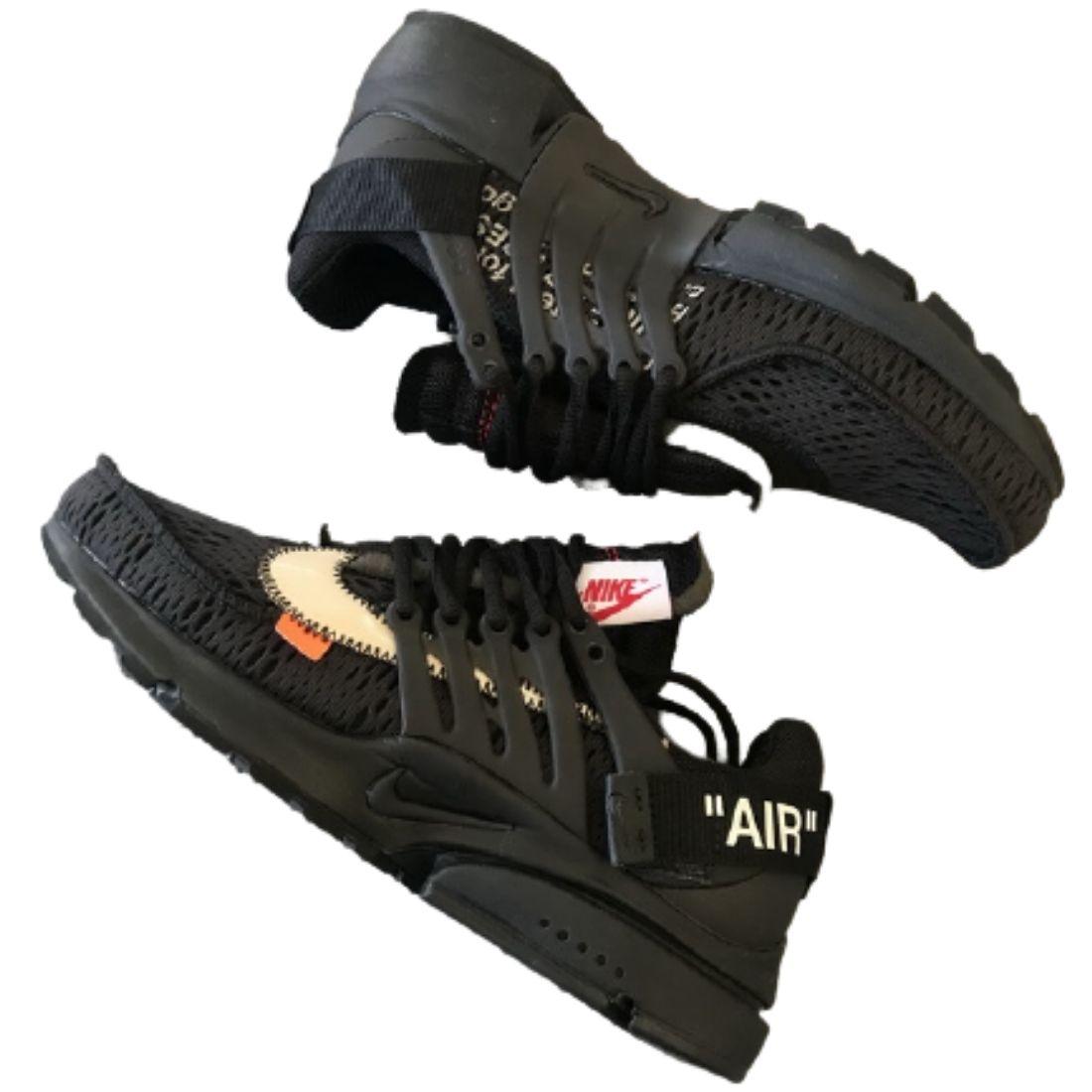 OWF Batch Sneaker & Nike Air Presto Off-White Black (2018) AA3830-002