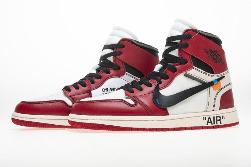 OWF Batch Sneaker & Jordan 1 Retro High Off-White Chicago AA3834-101